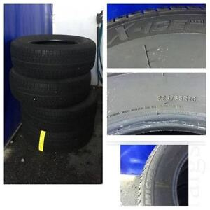 Snow Michelin Tires Almost New