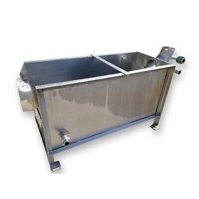 Used 180 Gallon Stainless Steel Liquid Storage Tank