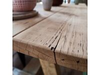 Furniture made from Scaffold Boards and reclaimed timber great for shop fitting or home