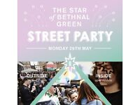 STAR OF BETHNAL GREEN PARTY STREET PARTY - EAST LONDON