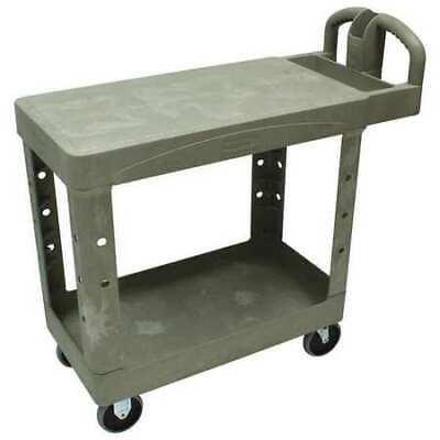 Rubbermaid Fg450500beig High Density Structural Foam Utility Cart With Deep