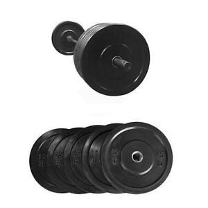 305lbs Bumper Plate Set - Brand New