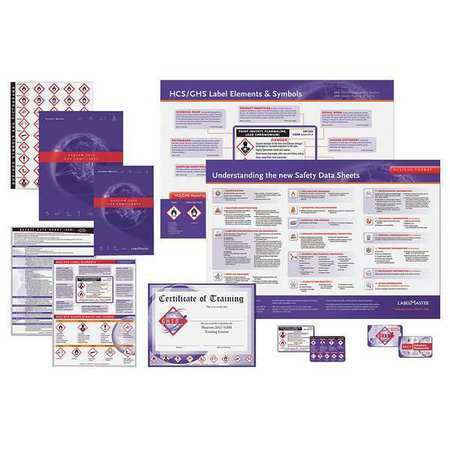 LABELMASTER GHISTRNKIT10S Training DVD,Workplace Safety,Spanish