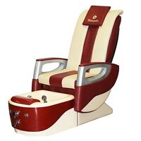 Pedicure Spa Chair Metropolis Candy Cane NEW in BoX