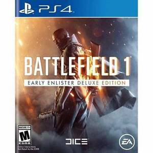 Battlefield 1 Deluxe edition PS4 new sealed