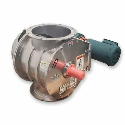 Used 12 Kice Industries Stainless Steel Rotary Airlock Model Vbs 16x12 Valve