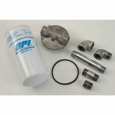 Gpi 40Gpm Filter Kit Fuel Filter Kit,30 Microns,40 Gpm