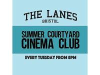 Summer Courtyard Cinema Club : The Graduate