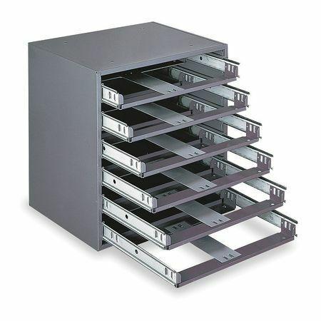 DURHAM MFG 308-95 Drawer Cabinet, 11-3/4x15-1/4x16-3/8 In