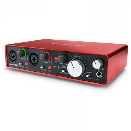Focusrite Scarlett 2i4 2nd gen OPRUIMING