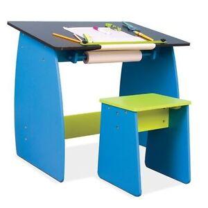 Table à dessin pour enfant avec tabouret/Children's drawing tabl