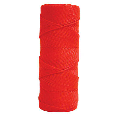 Kraft Tool 500 Fluorescent Orange Braided Nylon Masons Line