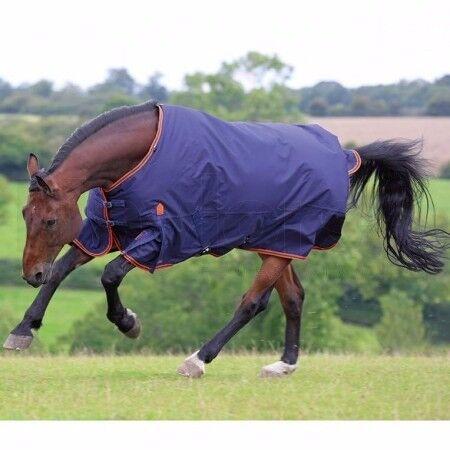"""Horse rug, 6'9"""" Shires Highlander lightweight turnout rug. Hardly used. Navy. Kinmuck area."""