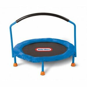Little tikes, kids trampoline with safe handle