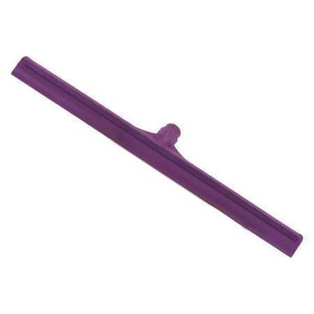 CARLISLE 3656768 Solid Rubber Squeegee,20in,Purple,PK6