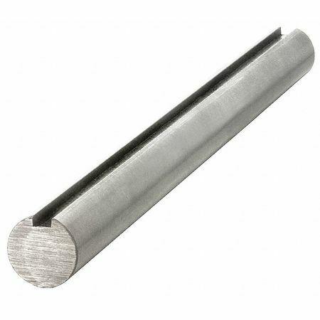 Keyshaft 25Mm Gks-1045-500 Keyed Shaft,Dia. 25Mm,500 Mm L,Cs