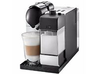 Nespresso DeLonghi Lattissima+ Silky White Coffee Machine