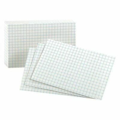 Oxford 02035 Grid Index Cards3x5whitepk100