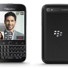 Blackberry classic Q20 unlock corporate phone