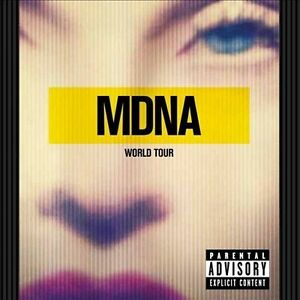 MDNA World Tour [PA] by Madonna (CD, Sep...