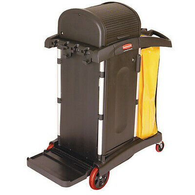 Rubbermaid Fg9t7500bla 22w 7.25 Cu. Ft. Janitor Cleaning Cart