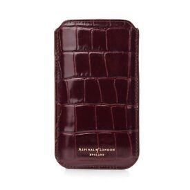 iPhone 6 or 7 plus - Leather Sleeve/Case