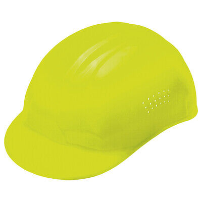 Erb Safety 67 Vented Bump Caphi-vis Yellowpinlock
