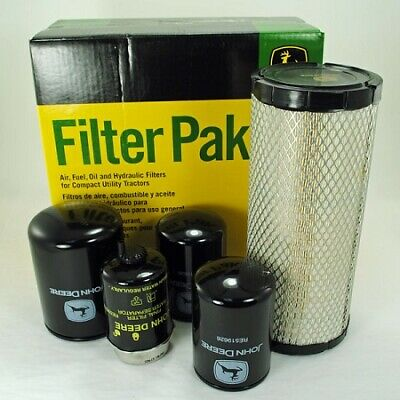 John Deere 4120 4320 4520 4720 Compact Utility Filter Pak Lva14896