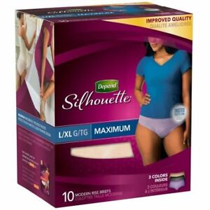 Depend Silhouette underwear for ladies