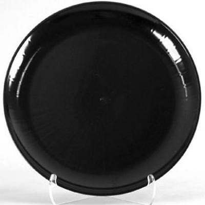 Black Plastic Serving Tray 16