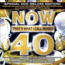 Now Compilation - Now 40 Dlx (2011) - Used - Compact Disc