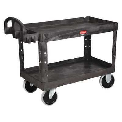 Rubbermaid Fg454600bla Structural Foam Raised Handle Utility Cart 750 Lb.