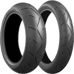 New Bridgestone Battlax BT-003 Motorcycle Tires 120 / 180 / 190