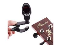 Clip-on Digital Electronic LCD Violin Bass Guitar Tuner