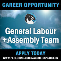 General Labour + Assembly Team Members Needed