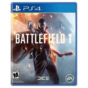 Brand New/Sealed Battlefield 1 PS4