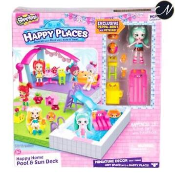 Shopkins Happy Places, Pool and Sundeck Playset