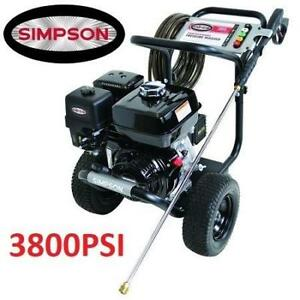 NEW* SIMPSON 3.5GPM PRESSURE WASHER PS3835 196423311 3800PSI HONDA OUTDOOR EQUIPMENT