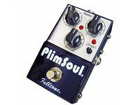 fulltone plimsoul overdrive pedal