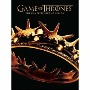 Game of Thrones: The Complete Second Season (DVD,  5-Disc Set)
