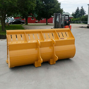 LIGHT MATERIAL LOADER BUCKETS, CANADIAN BUILT