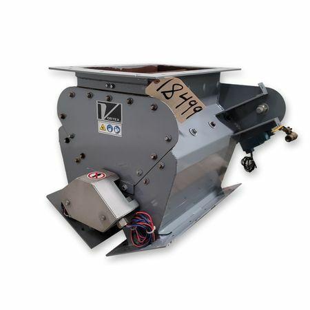 """10"""" Vortex Z10X16 Gravity Carbon Steel Diverter Valve [UNUSED!]"""