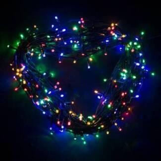 LED Fairy Lights (200) - Multi x 2