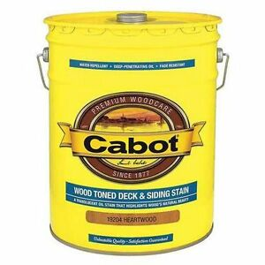 Deck and Fence Stain ( Cabots)