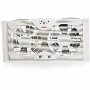 Window fan - (with Electronic Thermostat) -  Sunbeam