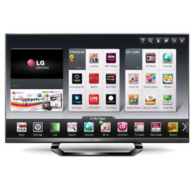 42 inch LG full HD slim, Smart 3D TV