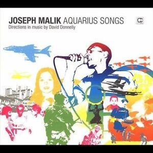 Malik,Joseph-Aquarius Songs  CD NEW