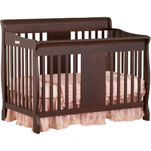 Calabria 4 in 1 fixed side convertible crib