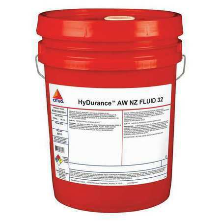 Citgo 633615001004 5 Gal Hydurance Aw Nz Fluid Pail 32 Iso Viscosity