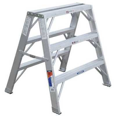 WERNER TW37330 Work Stand,36 In H,300 lb, Aluminum